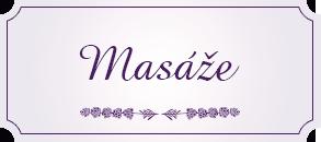 masáže  Praha 2